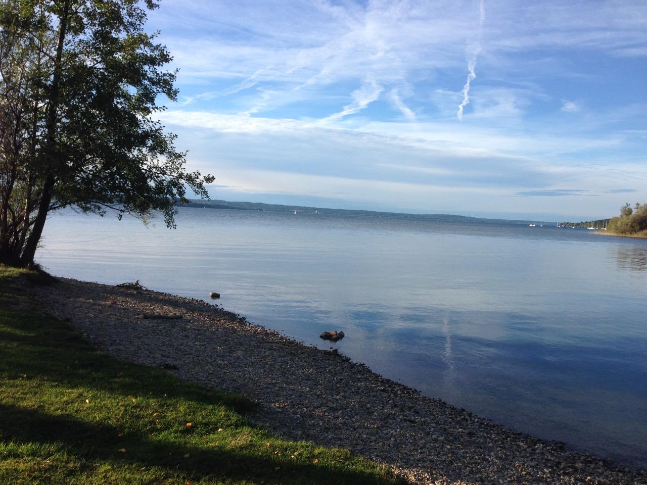 wo hat man schon seine eigene Liegewiese am Starnberger See