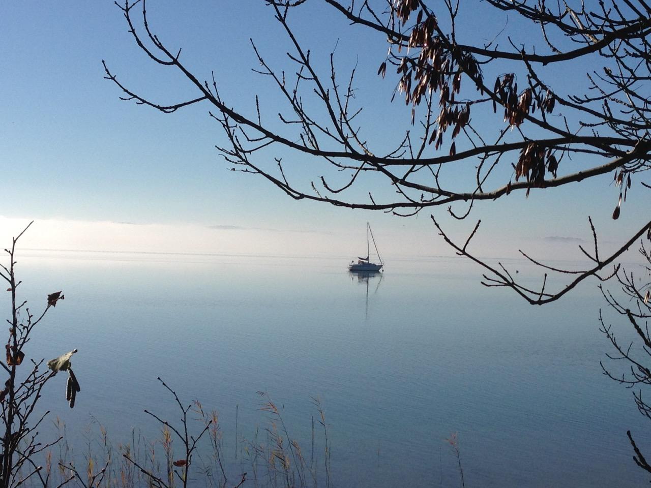 nicht immer ist der Strnberger See so friedlich, hat aer immer seine Reize