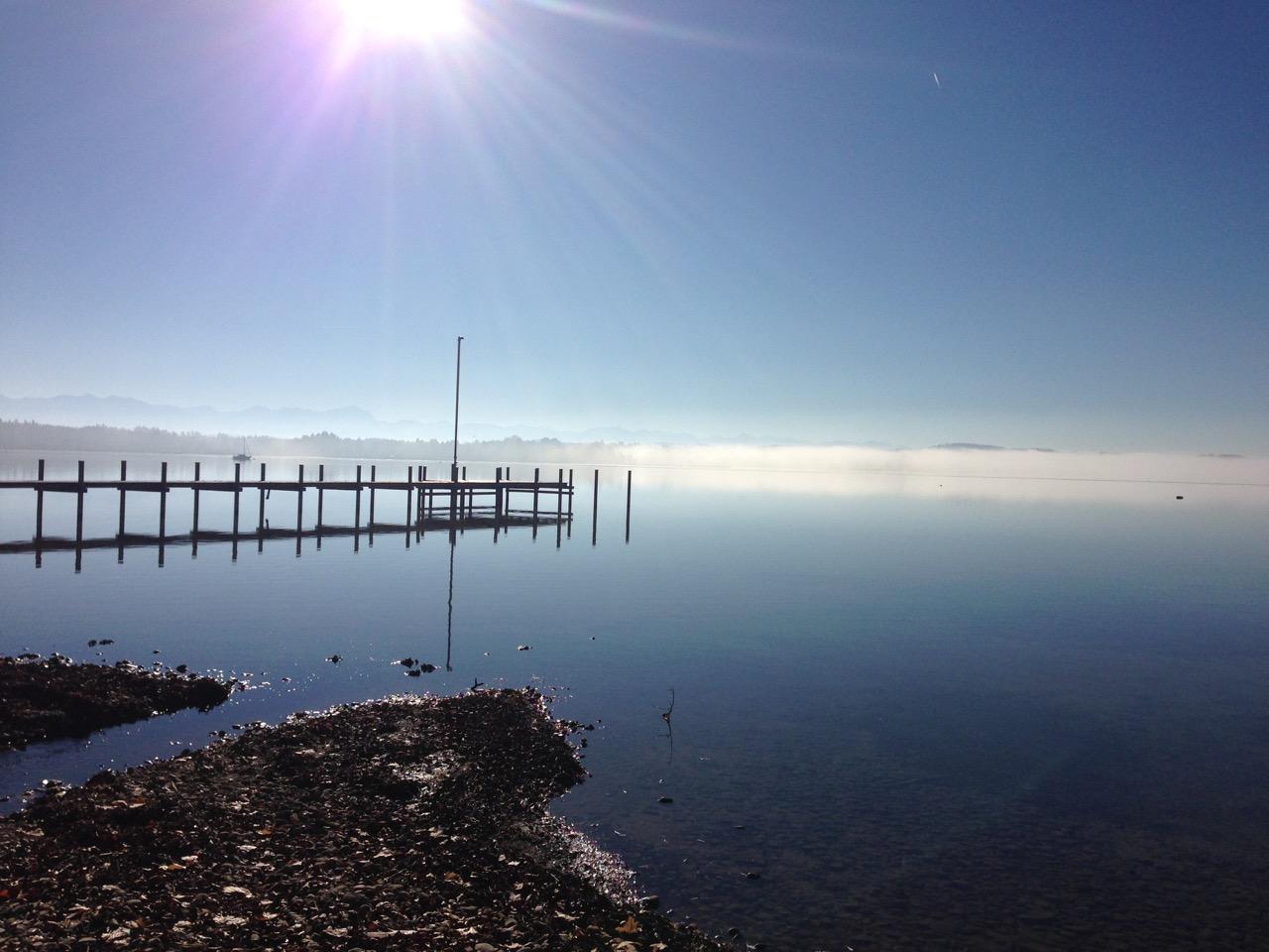 Was gibt es schöneres, als jeden Tag über den Starnberger See zu blicken