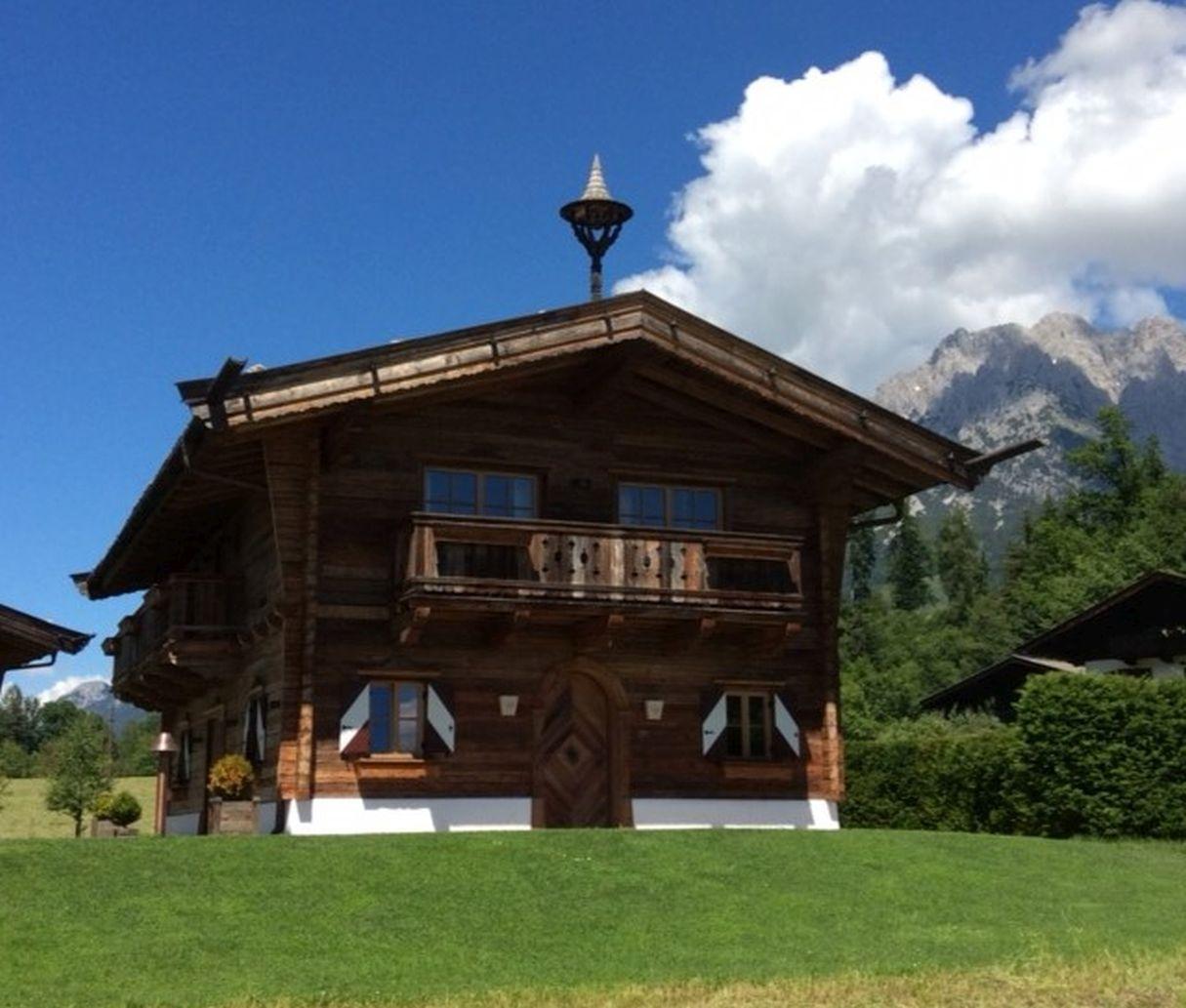 Tiroler Chalet in Going, dem Bergdoktordorf