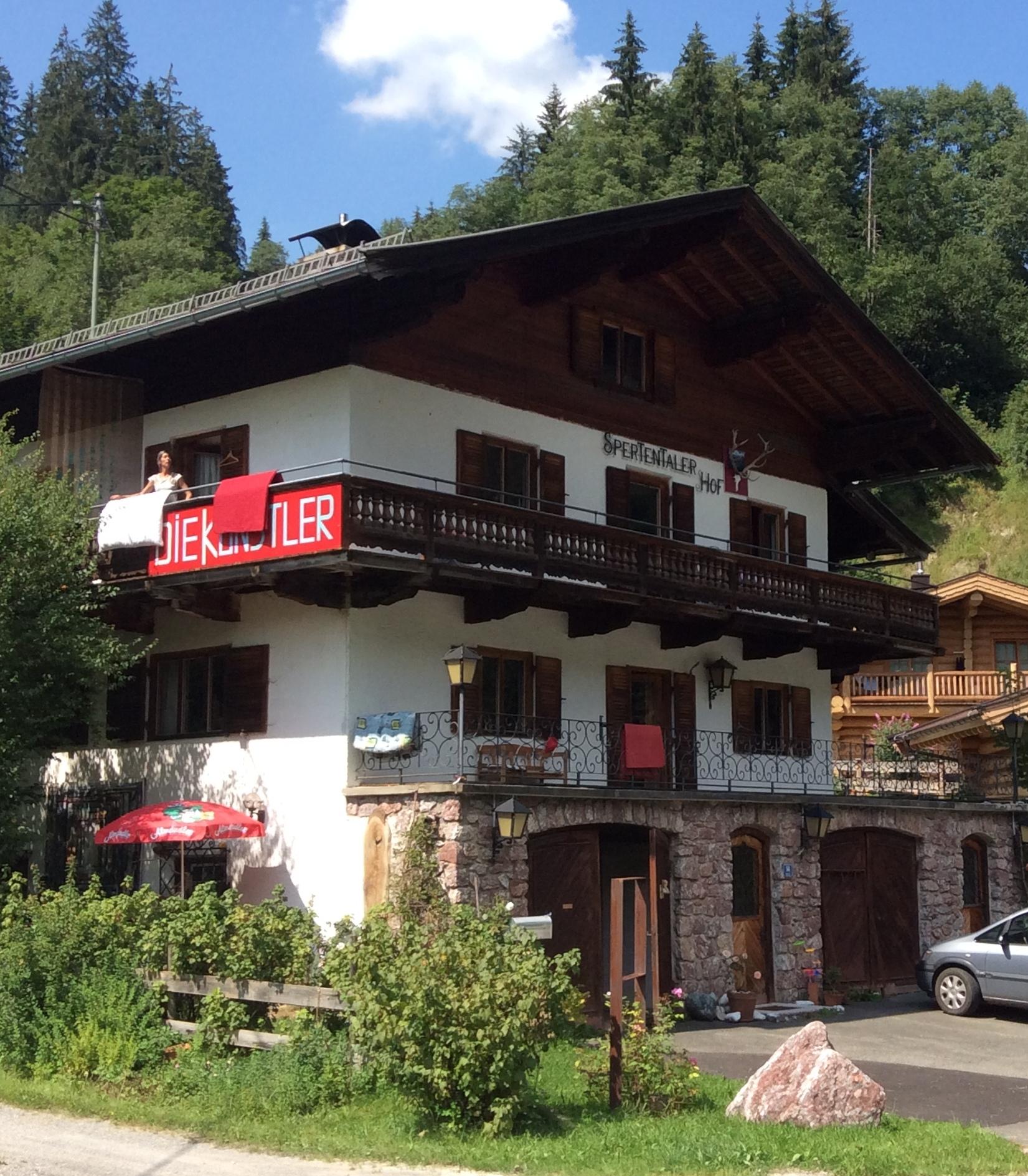 Landhaus in Kirchberg, Ansicht von Südosten