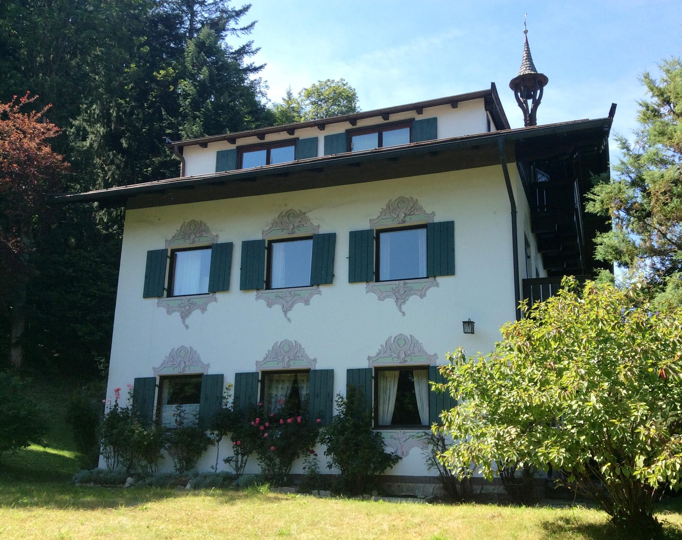 Nordansicht der Landhausvilla in Kitzbühel