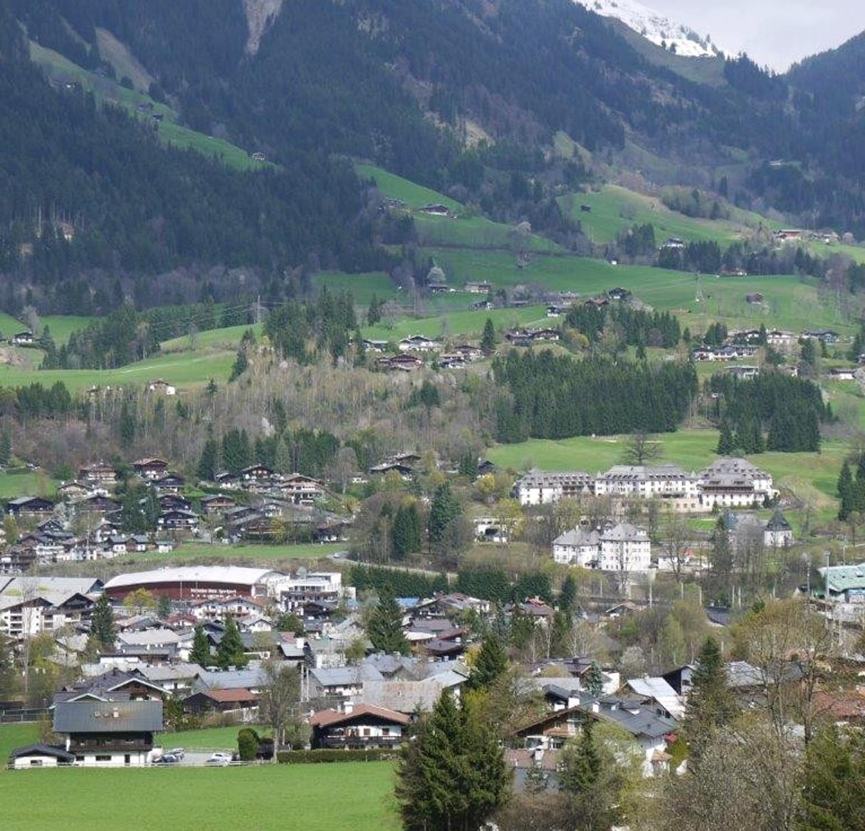 Der Ausblick auf die Kitzbühler Bergwelt ist gesichert.