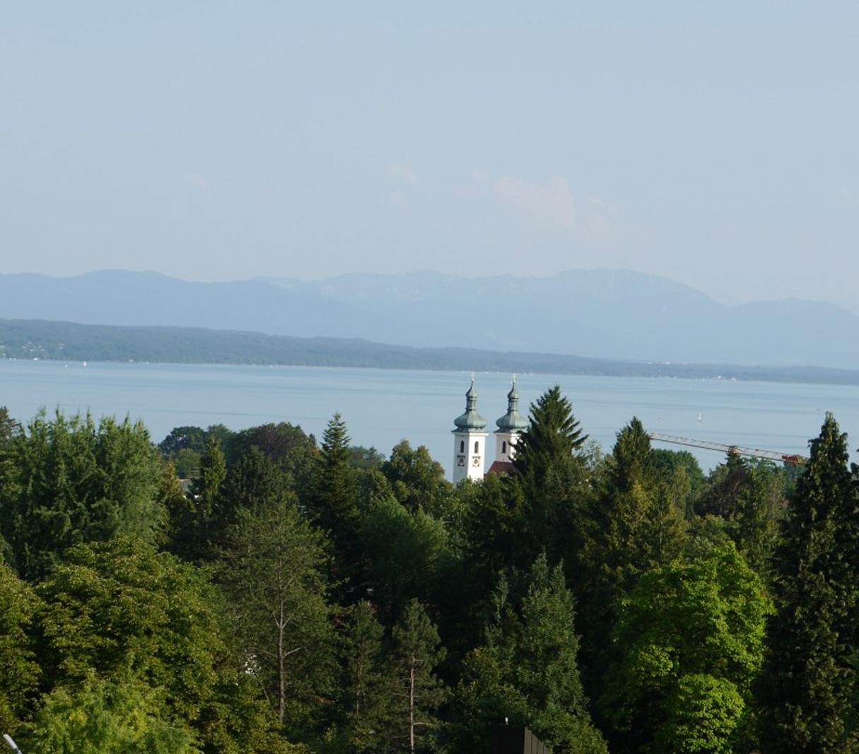 wer will nicht in Tutzing mit Blick über den Starnberger See leben.