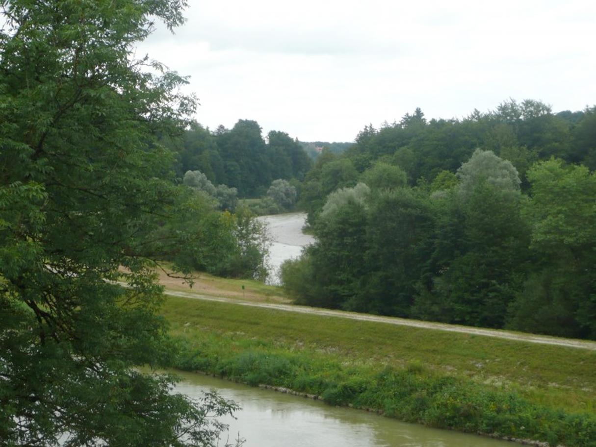Ein Grundstück am Isarhochufer in Grünwald