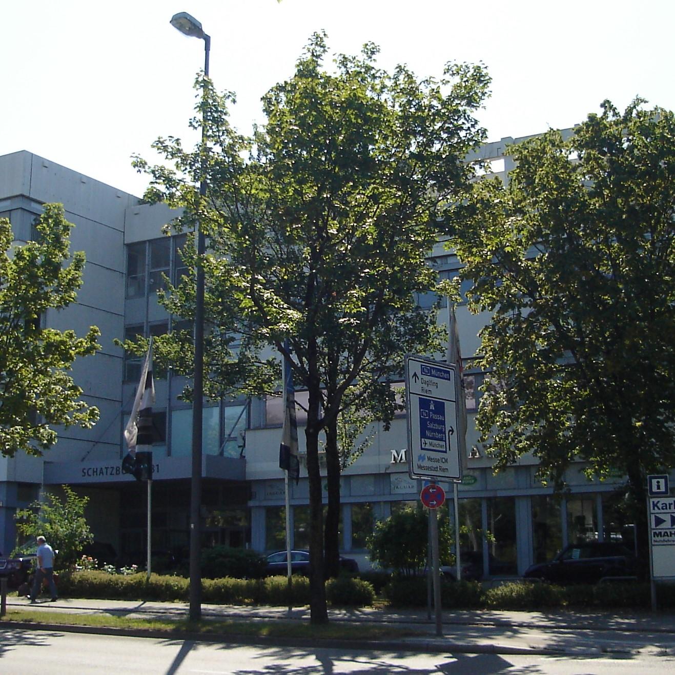 Gewerbeobjekt in München, Am Moosfeld
